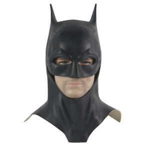 2021 Movie The Batman Mask Bruce Wayne Robert Pattinson Mask Superhero Props New