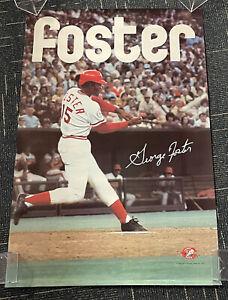 "George Foster Cincinnati Reds SGA poster 1976 24x36"""