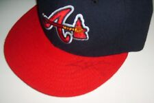 Atlanta Braves Autographed Hat ? 59 Fifty New Era Size 7