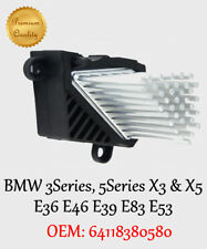 BMW X5 SERIES E53 CAR FINAL STAGE HEATER MOTOR RESISTOR MODULE 64116923204
