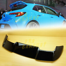 2019+ ABS FOR TOYOTA Corolla AURIS E210 Painted Black Trunk Spoiler Hatchback 5D