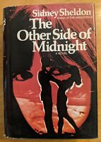 The Other Side Of Midnight Sidney Sheldon - HCDJ 1st Edition First Printing 1973