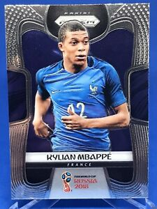 Kylian Mbappe 2018 Panini Prizm World Cup Rookie #80 France PSG