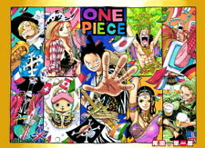 "337 One Piece - ACE OP Monkey D Luffy Fighting Japan Anime 33""x24"" Poster"