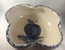 P.R Storie Apple Pottery Bowl - Vintage
