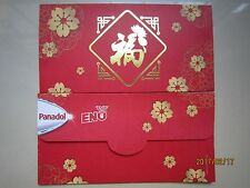 Panadol/Eno Flower Chinese New Year Ang Pow/Red Money Packets 5pcs