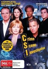 CSI (COMPLETE SEASON 1 DVD SET - SEALED + FREE POST)