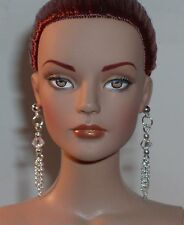 OOAK  Doll / Tonner / Barbie / Small Hole Earrings- Silver- U Pick Color