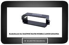Einbaurahmen für DAEWOO MATIZ NUBIRA LANOS LEGANZA  Radioblende