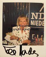 🔝ULLA NORDEN (1940-2018) - Original signiertes Polaroid Foto - Unikat!
