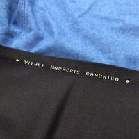 Vitale Barberis Canonico Made in Italy Brown Wool Twill