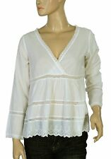 158145 NEW Odd Molly Embroidered Lace Long Sleeve Blouse Top X Small XS 0
