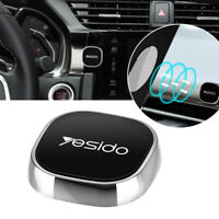 Mini Strip Shape Magnetic Car Phone Holder Stand For iPhone Magnet Mount Silver