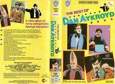 THE BEST OF DAN AYKROYD - VHS - PAL - NEW - Never played! - Original Oz release