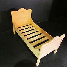 Artisan made letto singolo in legno ~ doll House Miniatura Scala ~ 1/12th