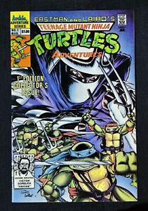 TEENAGE MUTANT NINJA TURTLES ADVENTURES #1 ~ Archie Comics  HTF 4th Print 🐢