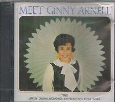 MEET GINNY ARNELL CD   BRAND NEW    22 TRACKS ON MARGINAL