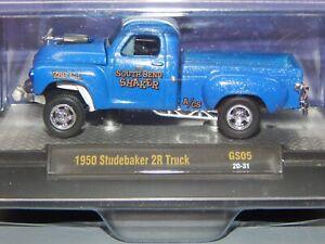 M2 Machines GS05 1950 Studebaker 2R South Bend Shaker Gasser A/GS Blue MOMC