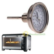 """1/2"""" NPT Threaded Stainless Steel Thermometer for a Moonshine Still Condenser"""