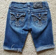 EUC Women's/Junior Miss Me Jean Shorts SZ 27 Cotton blend