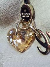 GUCCI Authenitc Women's Strap Alphabet g & Heart Charm Length:9cm