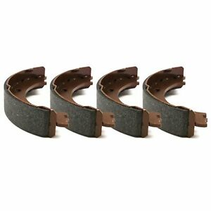 For 2008-2014 Smart Fortwo R1 Concepts Pro Fit Brake Shoes Rear