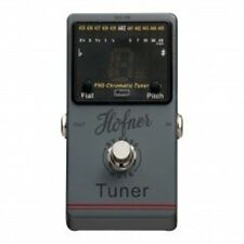 New Hofner Foot Pedal Chromatic Electric Guitar Tuner HOF-HCT-P-TUNER