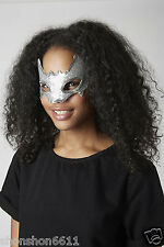 topshop sliver sequin bat masquerade eye face mask for prom night fancy dress