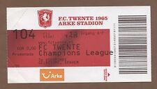 Orig.Ticket  Champions League  11/12   FC TWENTE ENSCHEDE - FC VASLUI  !!