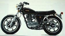 Yamaha SR500 4 Stroke Road Motorcycle Original Vintage 1978 Brochure