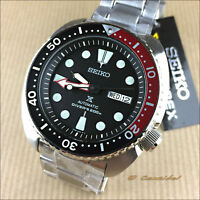 New Seiko Prospex Turtle Pepsi SRP789K1 SRP789 Automatic Cal. 4R36 200M W.R