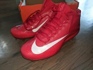 Nike Force Zoom Metal Baseball Cleats Mike Trout 3 Red Size 11.5 mens 856503-667