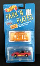 Hot Wheels 1988 Park'N Plates Red Chevy Corvette Nib Good Condition