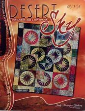 "Judy Niemeyer DESERT SKY Foundation Paper Pieced Quilt Pattern 45"" x 54"""