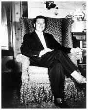 GORDON MacRAE great 8x10 still at home in favorite chair -- g112