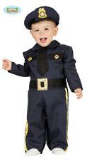 Qualità Poliziotto Ragazzi Costume Vestito Completo Bambino New York Cop