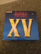 Vintage Rubik's Fifteen XV Puzzle Game Matchbox Boxed 1990