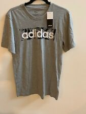 Adidas Camo Linear T Shirt Tee Top Mens Uk Size Small - NEW