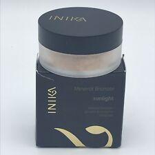 711,43€/100g INIKA Mineral Bronzer Grundierung Farbe Sunlight 01 /16-1018/