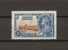"""NORTHERN RHODESIA 1935 SG 20f """"Diagonal Line by Turret"""" MINT Cat £250"""