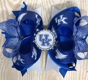 University Of Kentucky Hair Bow With Free Shipping