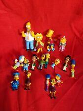 THE SIMPSONS A SET OF 17 MINI BOBBLE HEAD FIGURES Milhouse Mr.Burns chief FOX'03