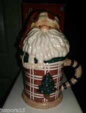 Make the Season Bright Santa Mug With Lid Only Displayed