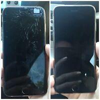Réparer l'écran de votre Smartphone Avec Résine pour petite et moyenne Fissures