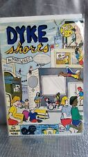 DYKE SHORTS BY MARY WINGS NO.1 1978 $1.25 COMIX  COMIC BOOK