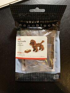BRAND NEW Nanoblock Toy Poodle - Nano Block Micro-Sized Building Blocks NBC-060