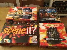 Games Bunde Job Lot DOCTOR WHO Interactive Electronic Board GAME Scene It +