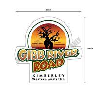 The New Gibb River Road Bumper Sticker - Icon Large