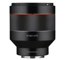 Samyang AF 85mm F1.4 High Speed Lens for Sony E Mount - SYIO85AF-E