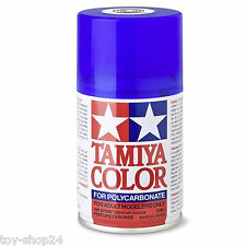 Tamiya #300086038 PS-38 100 ml Traslucida BLU poly. colore